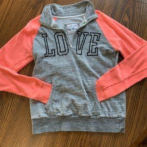 """Love"" light weight sweatshirt"